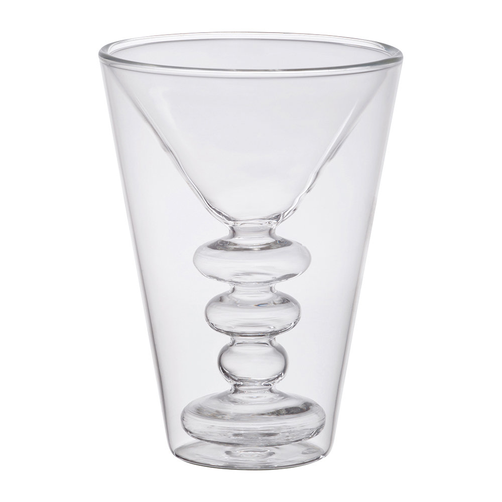 double walled glasses buy bitossi home walled cocktail glasses set of 2 10769