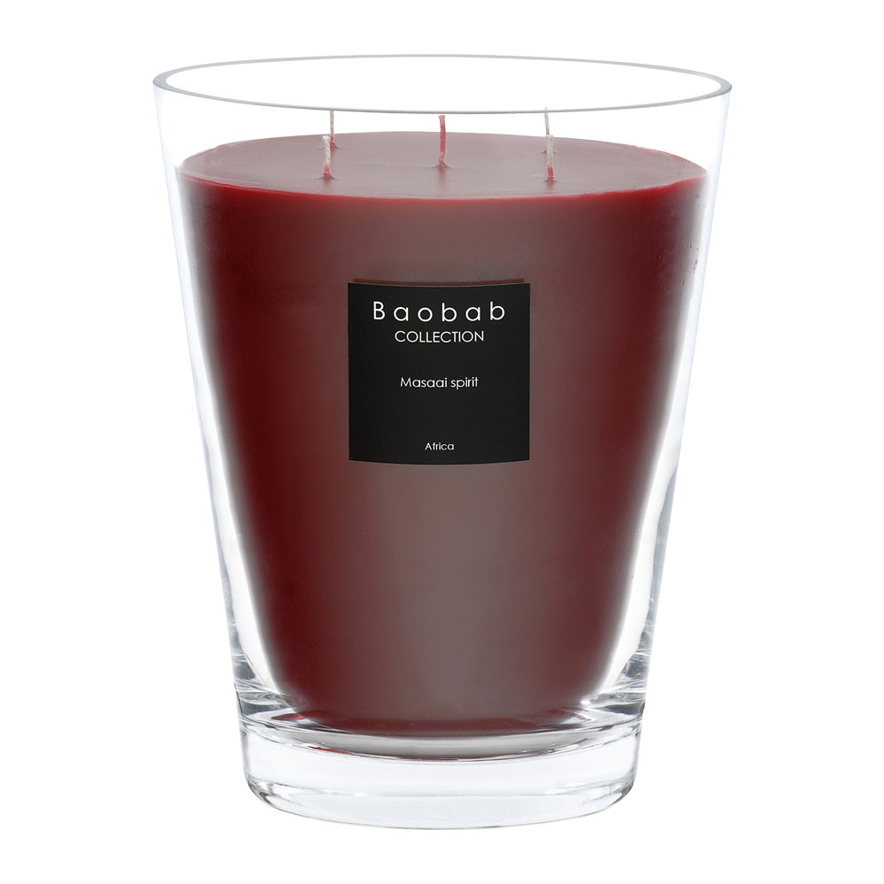 Baobab Collection - Scented Candle - Masaai Spirit - 24cm