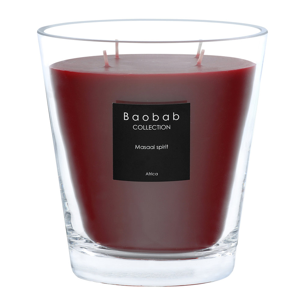 Baobab Collection - Scented Candle - Maasai Spirit - 16cm