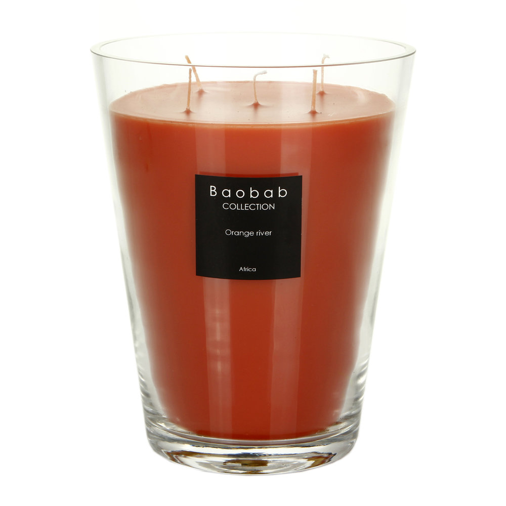 Baobab Collection - Scented Candle - Orange River - 24cm