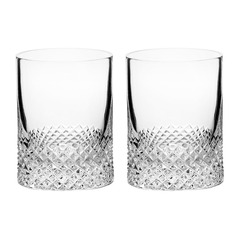Richard Brendon - Diamond Shot Glasses - Set of 2