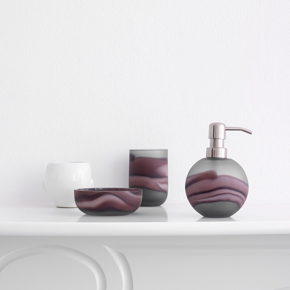 Buy Aquanova Tibor Toothbrush Holder Aubergine Amara