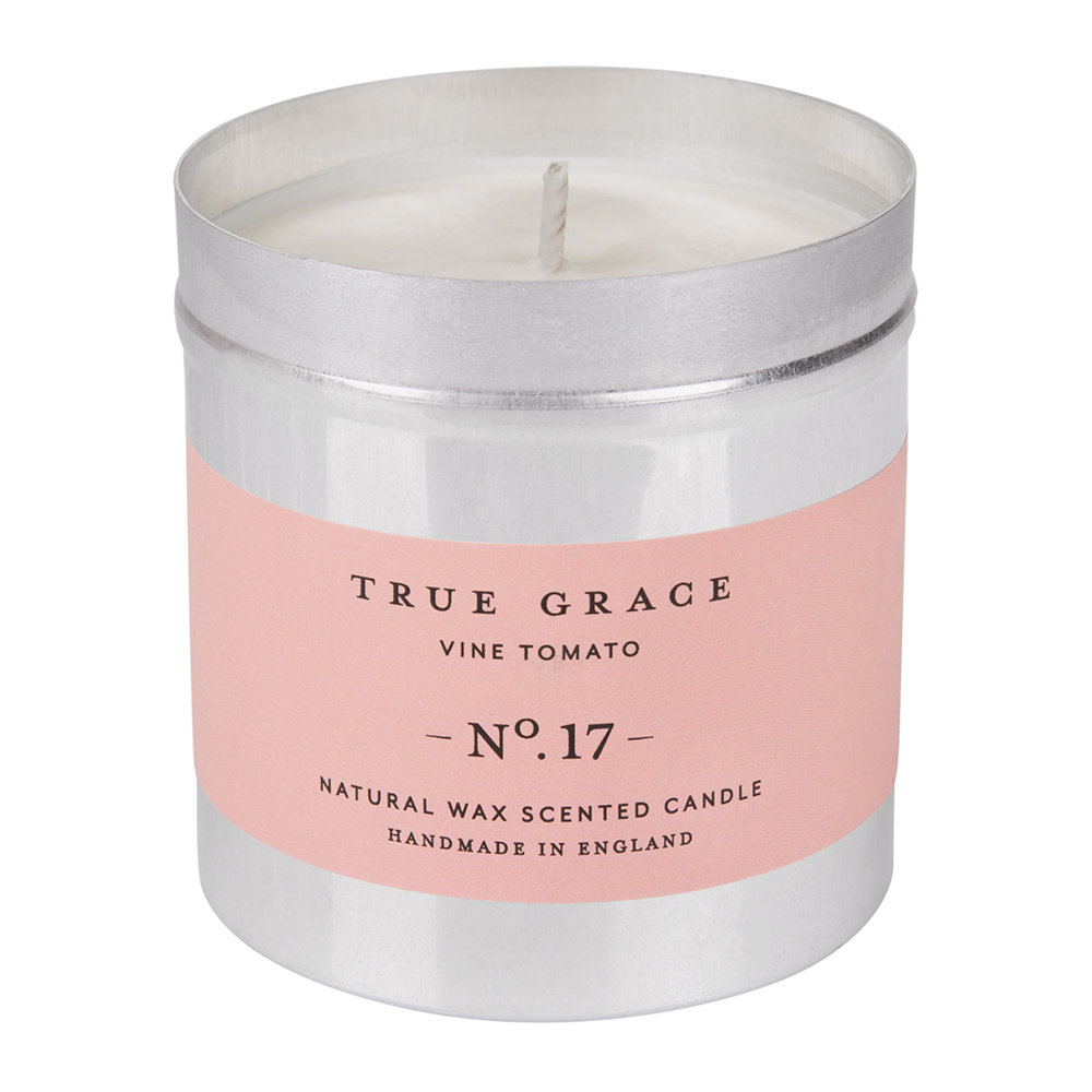 True Grace - Walled Garden Candle in Tin - Vine Tomato - 250g