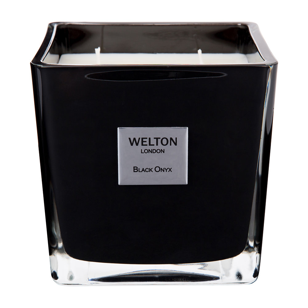 Welton London - Scented Candle - Black Onyx - 1.2kg