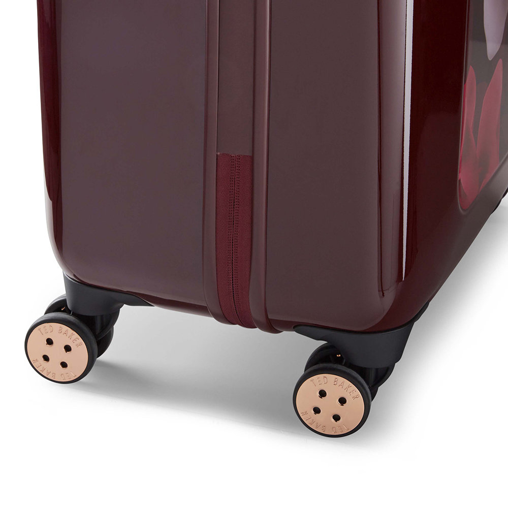 4f1972aa6 Buy Ted Baker Porcelain Rose Suitcase - Burgundy