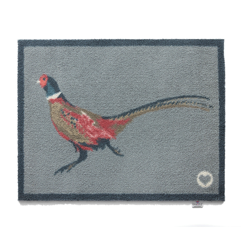 Hug Rug - Pheasant Washable Recycled Door Mat - 65x85cm