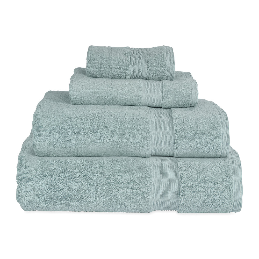 DKNY  Mercer Plain Dye Towel  Mist  Bath Sheet