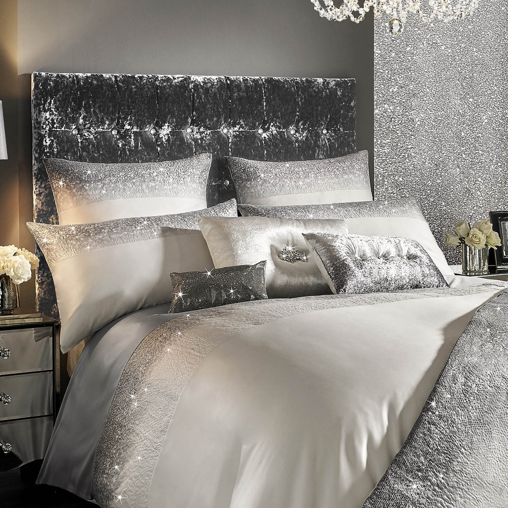 Buy kylie minogue at home glitter fade bed cushion for Amara homes