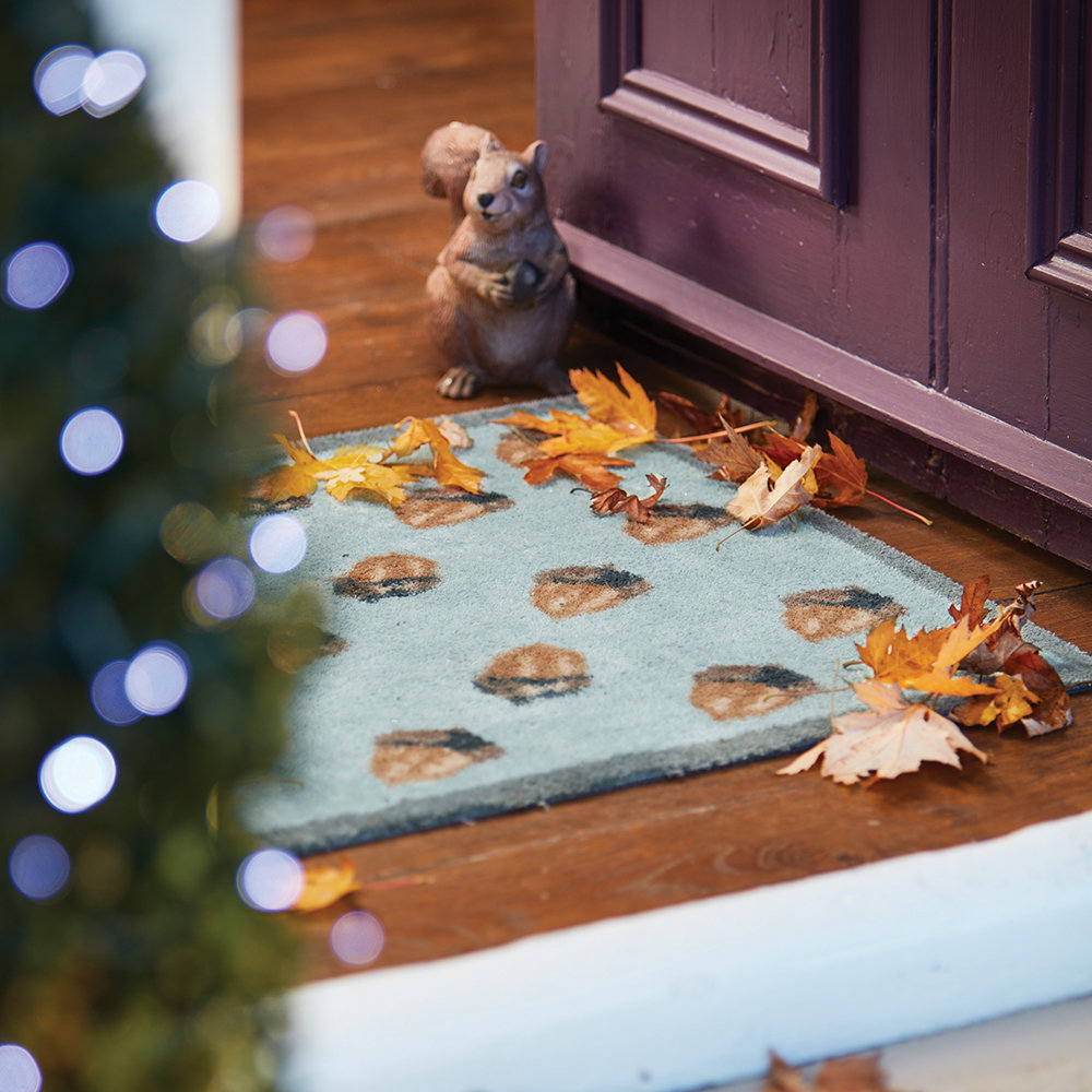 Hug Rug - Acorn Washable Recycled Door Mat - 65x85cm