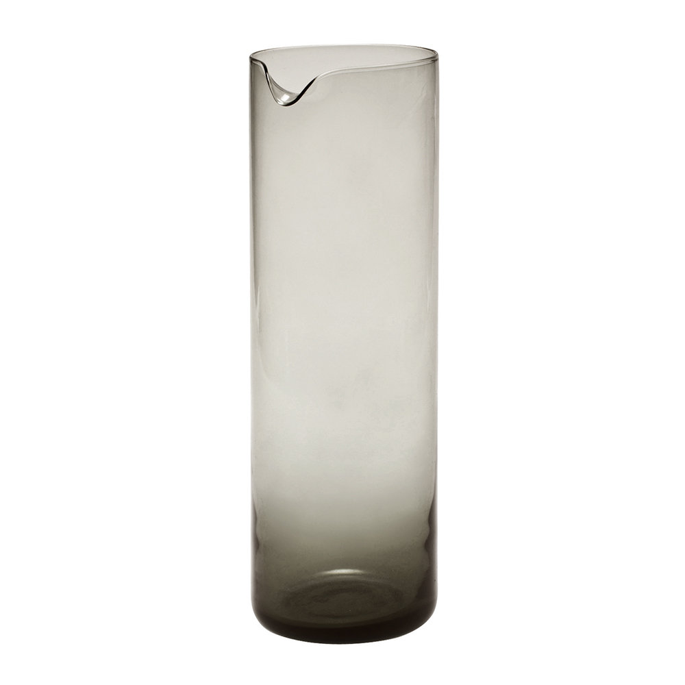 Bitossi Home - Bloom Glass Pitcher - Smoke