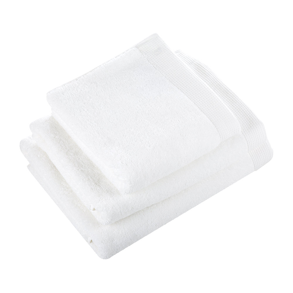 Yves Delorme - Astree White Towel - Hand Towel