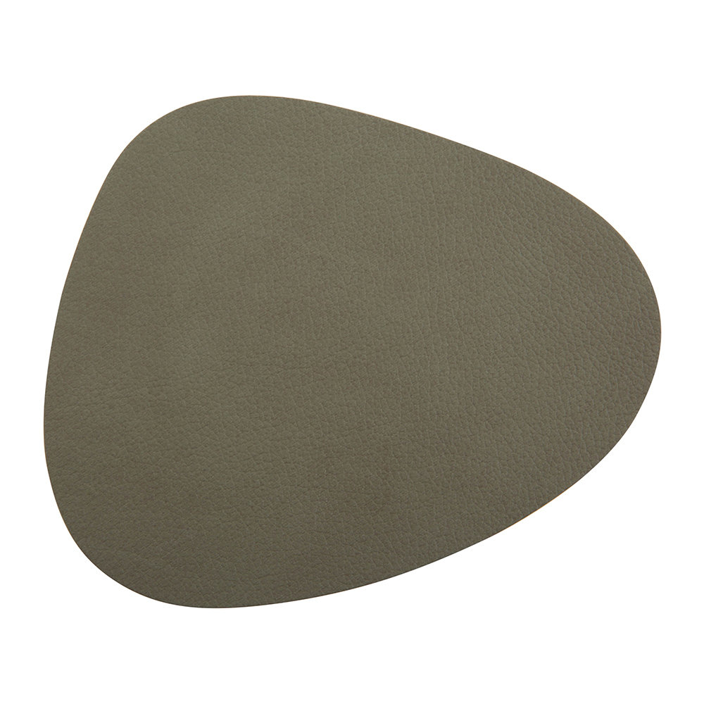 LIND DNA  Curve Drinks Coaster  Army Green