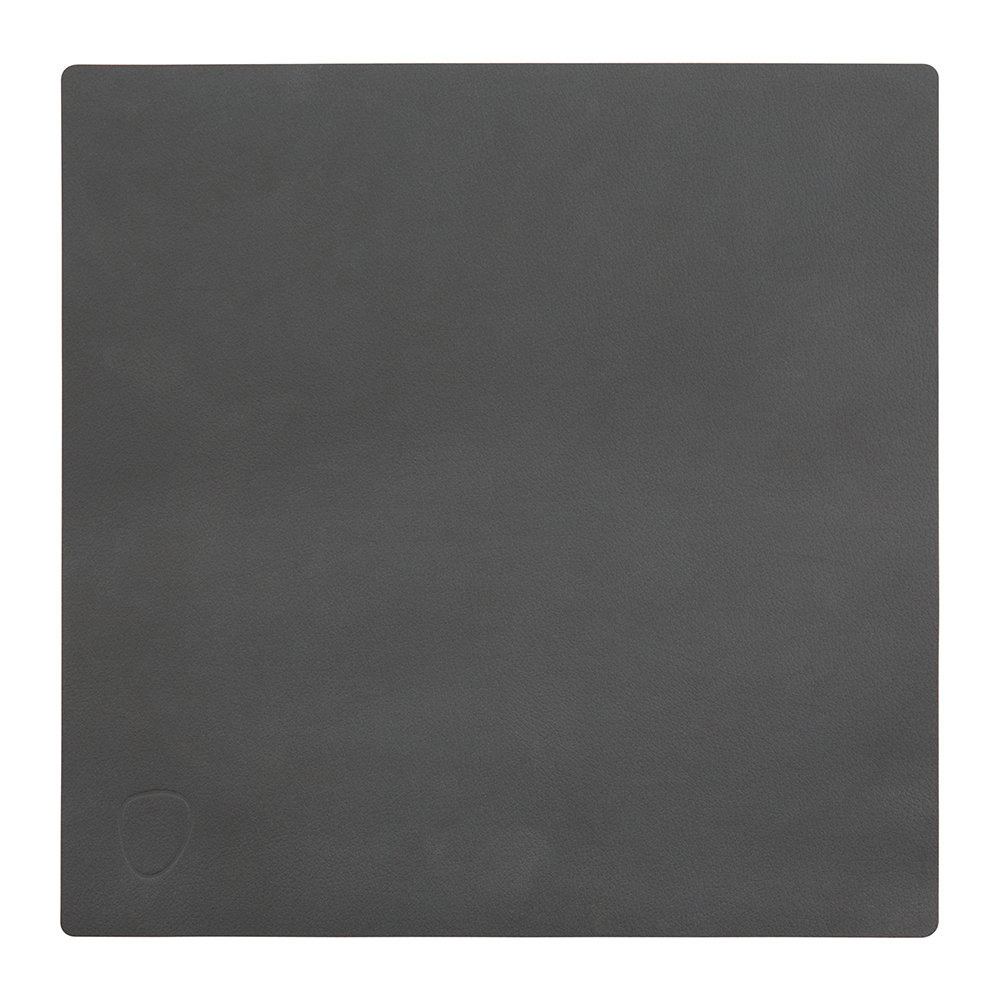 Buy lind dna table mat square anthracite small amara for Small square placemats