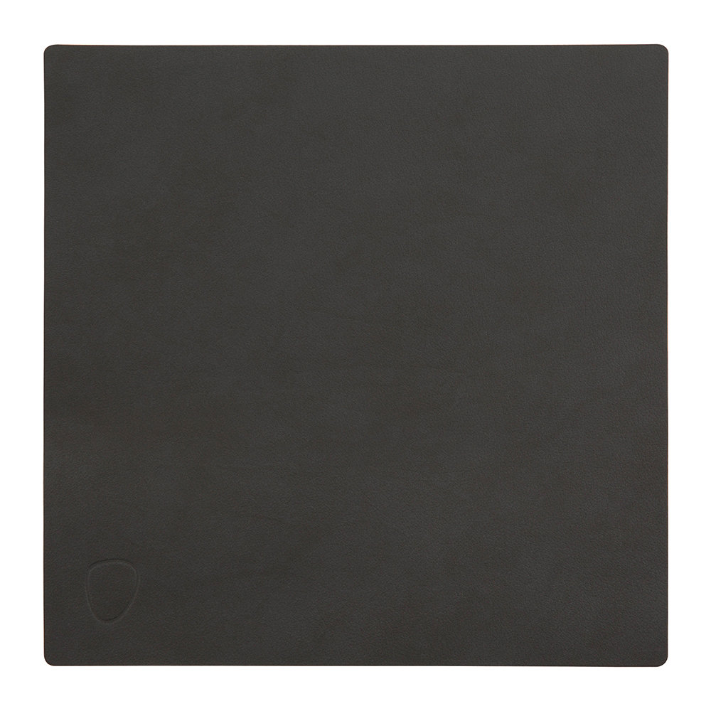 LIND DNA - Square Table Mat - Black - Small