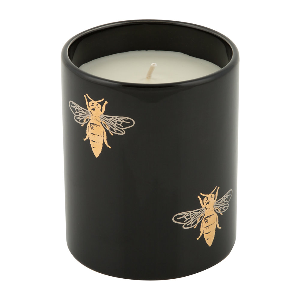 casacarta - Bee Porcelain Candle - Dark Amber - Small