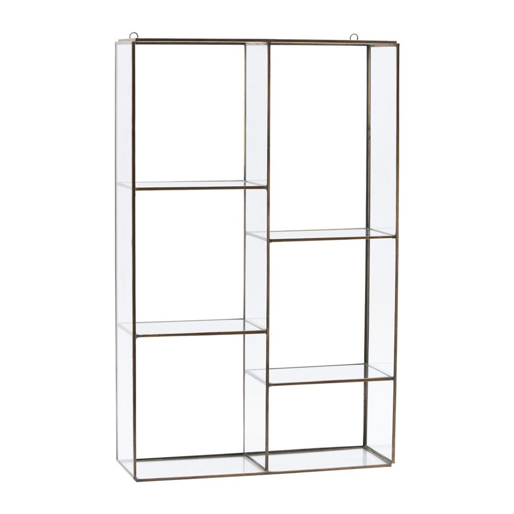 House Doctor - Hanging Wall Storage Unit - 6 Compartments