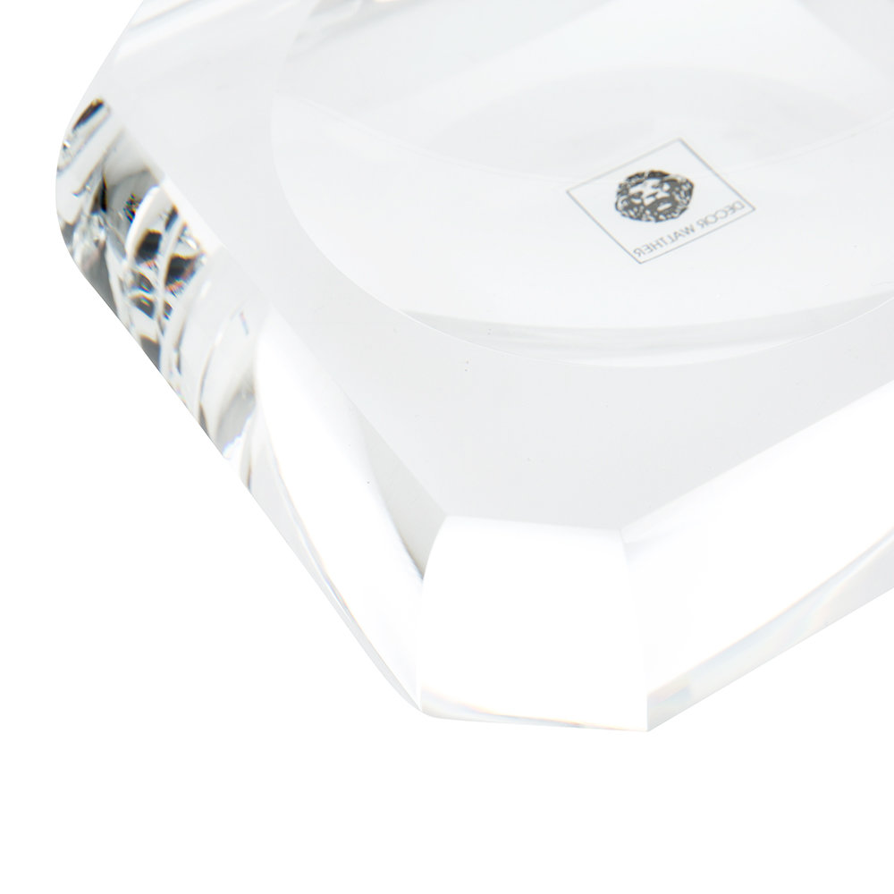 Decor Walther - KR STS Kristall Soap Dish - Crystal Clear