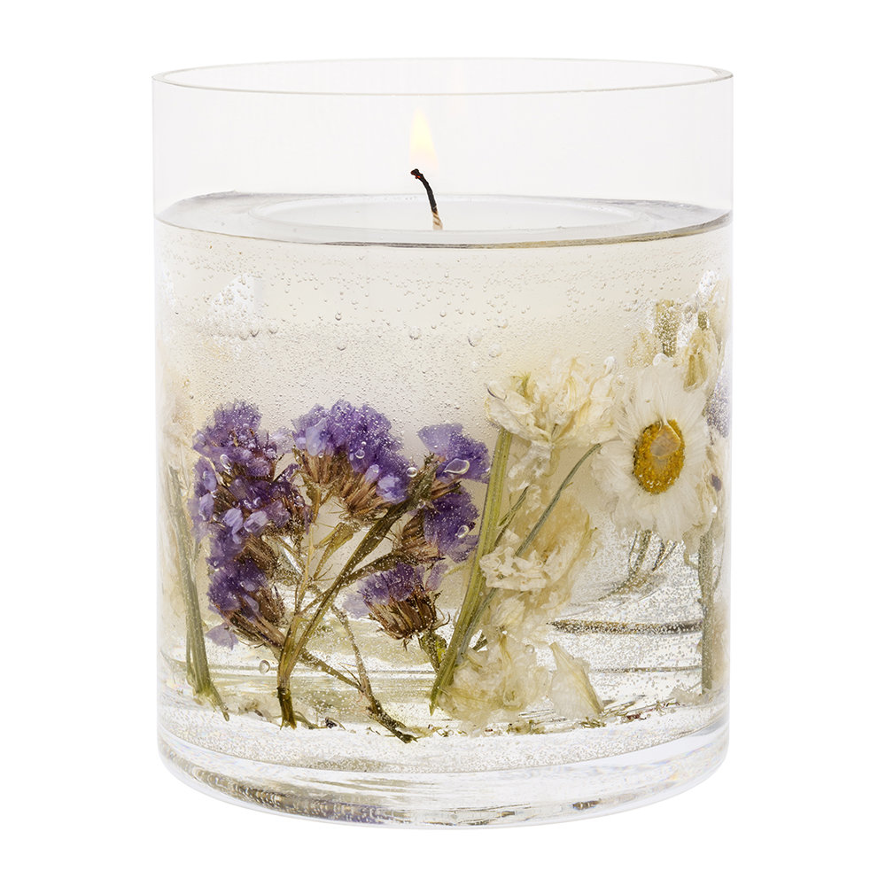 Stoneglow - Nature's Gift Gel Candle - Lavender  Chamomile