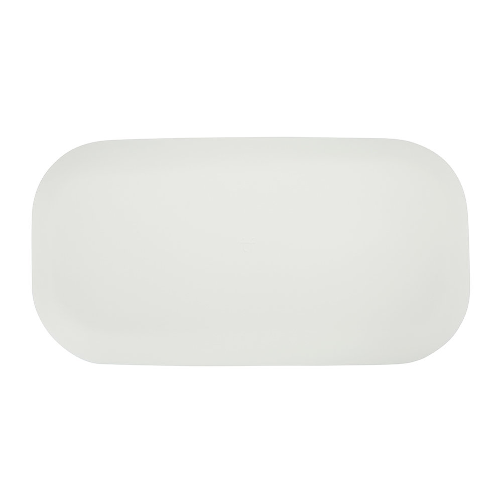 Tina Frey Designs - Hotel Collection Long Vanity Tray - White