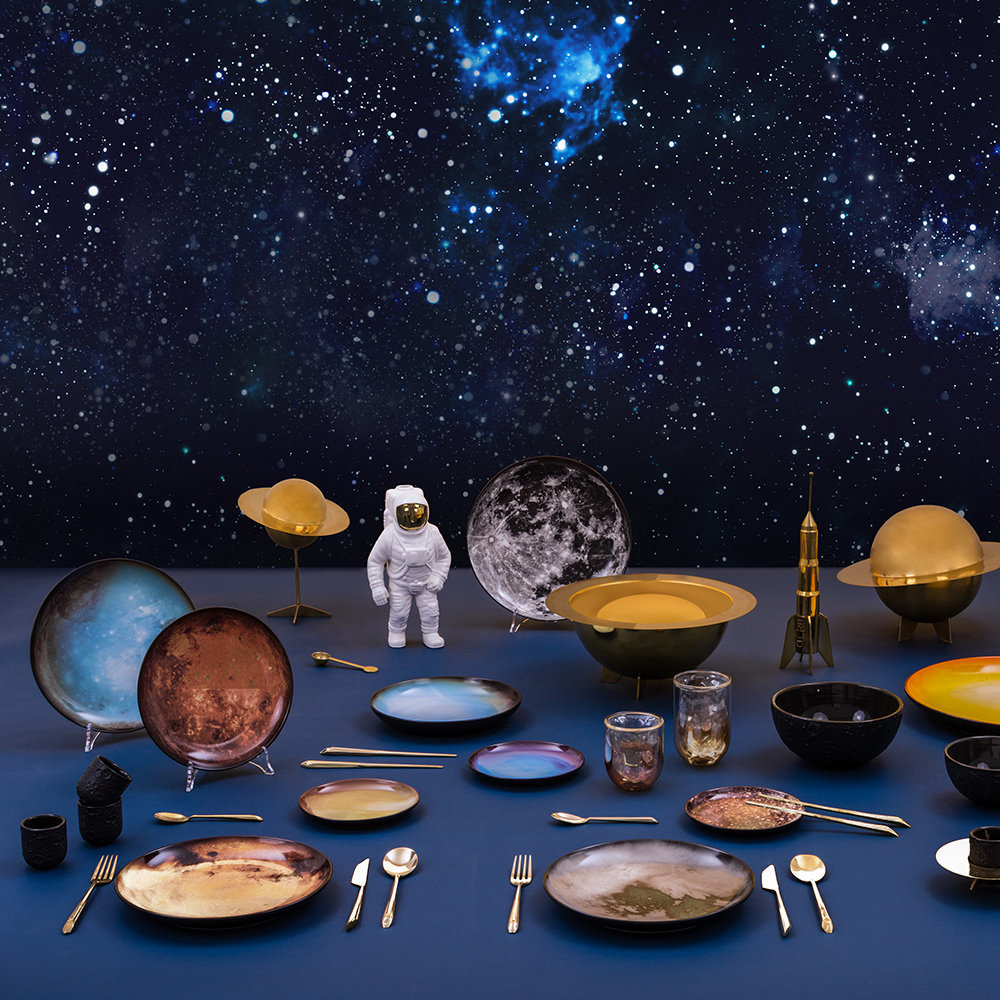 Diesel Living with Seletti - Cosmic Decorative Box - Lunar