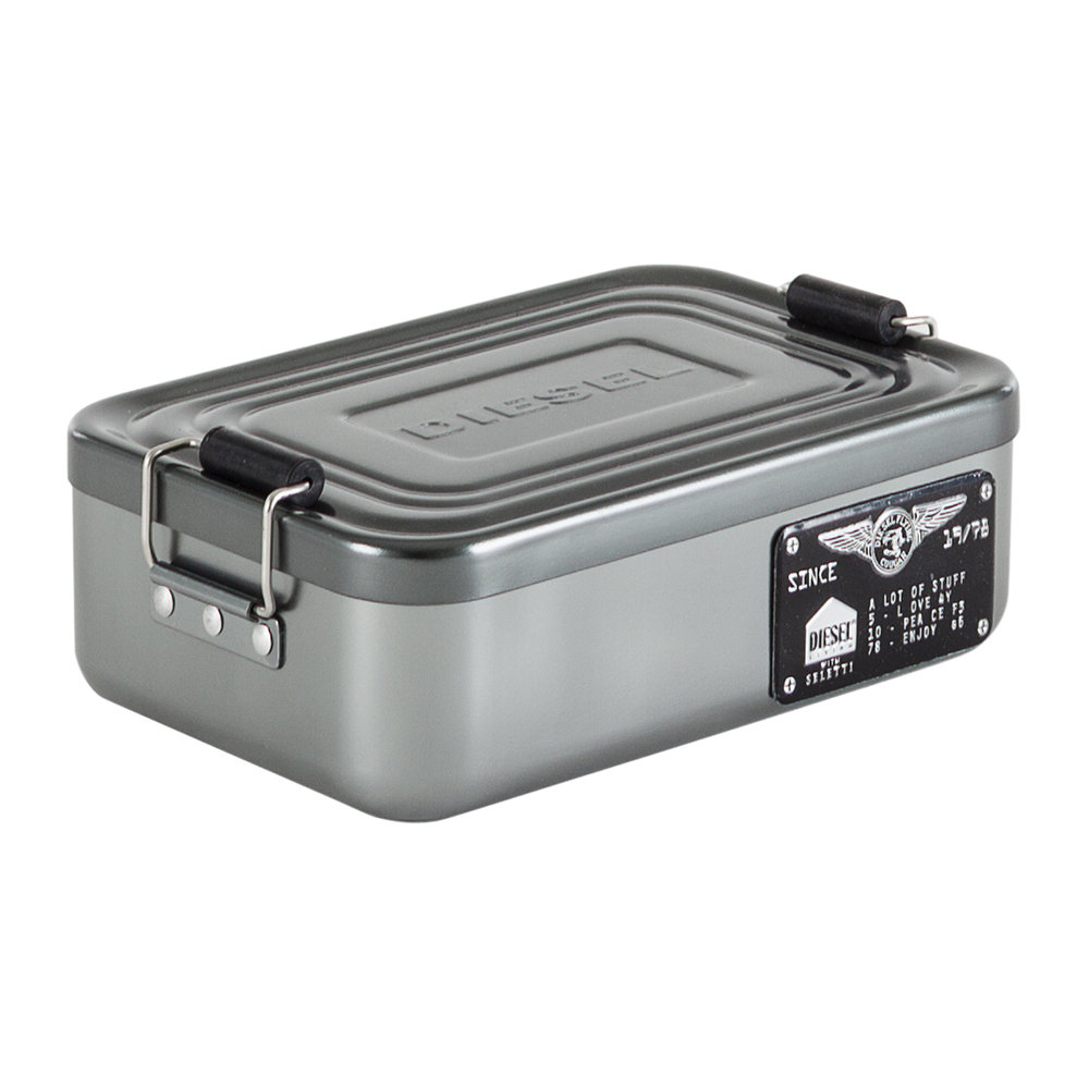 Diesel Living with Seletti - Aluminium Bento Box with Lid - Large