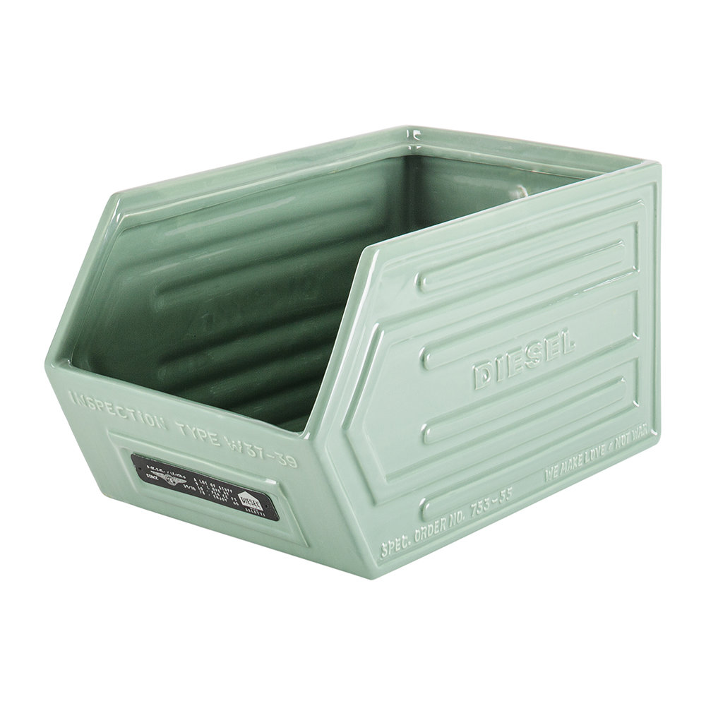 Diesel Living with Seletti - Ceramic Storage Crate