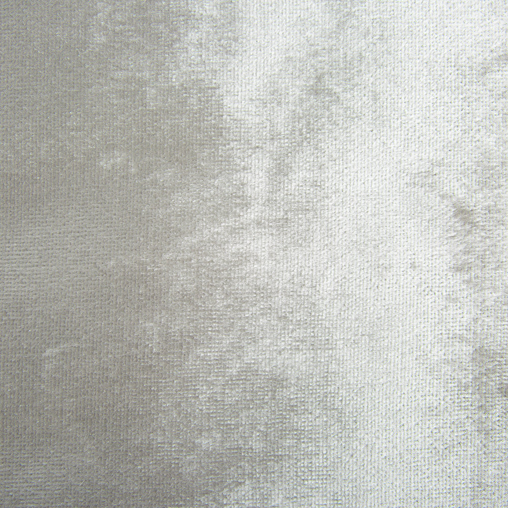 Kylie Minogue at Home - Esta Lined Eyelet Curtains - Silver - 168x137cm
