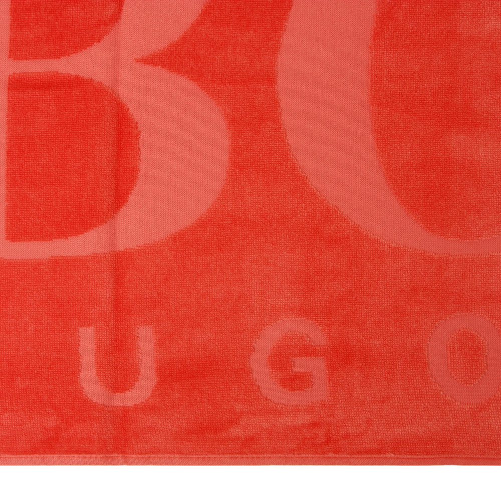 Hugo Boss - Carved Beach Towel - Red Flag