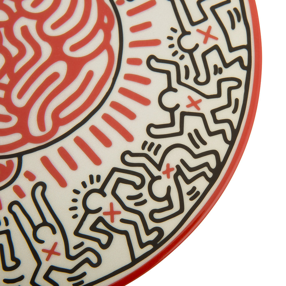 Ligne Blanche - Keith Haring 'Brain' Plate