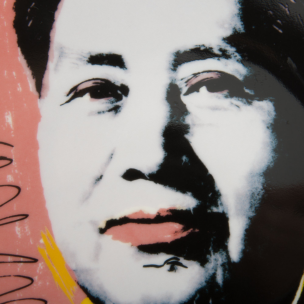 Ligne Blanche - Andy Warhol Plate - Mao - Yellow Jacket
