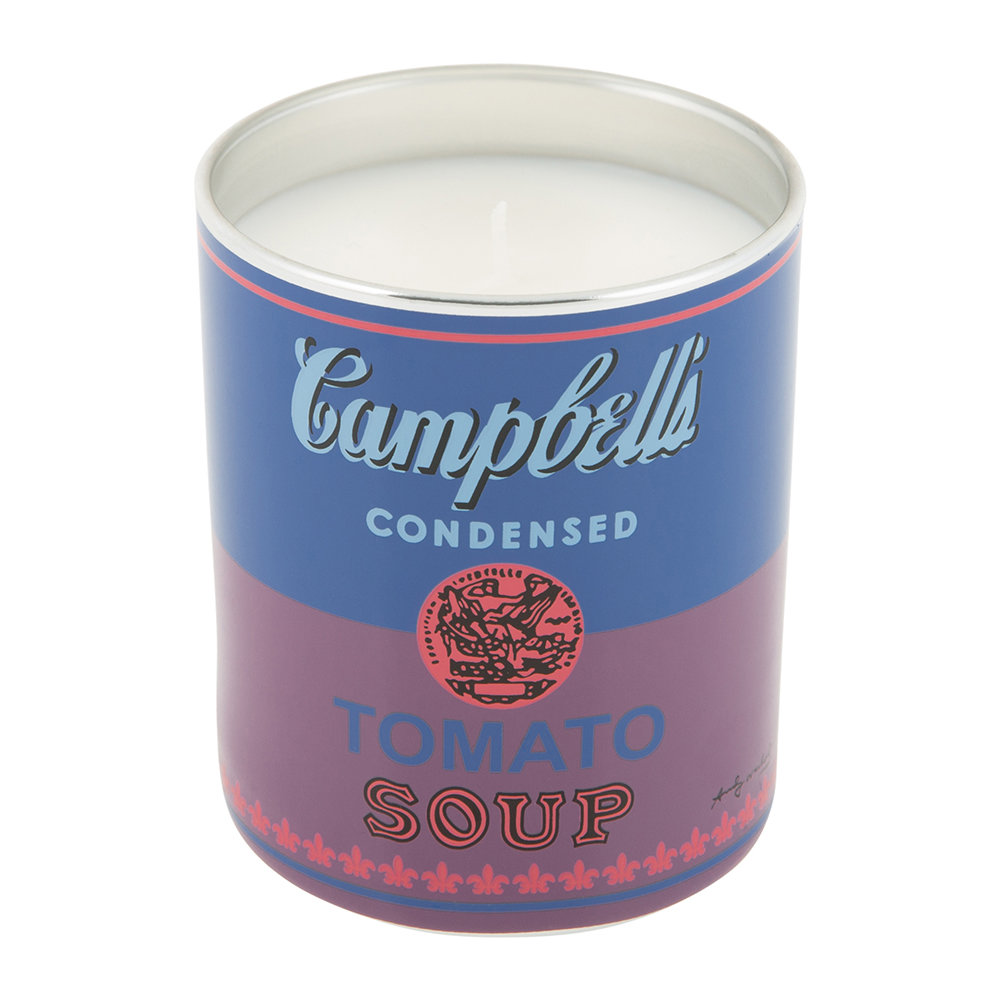 Ligne Blanche - Andy Warhol Scented Candle - Campbell's Soup - Fig  Tree