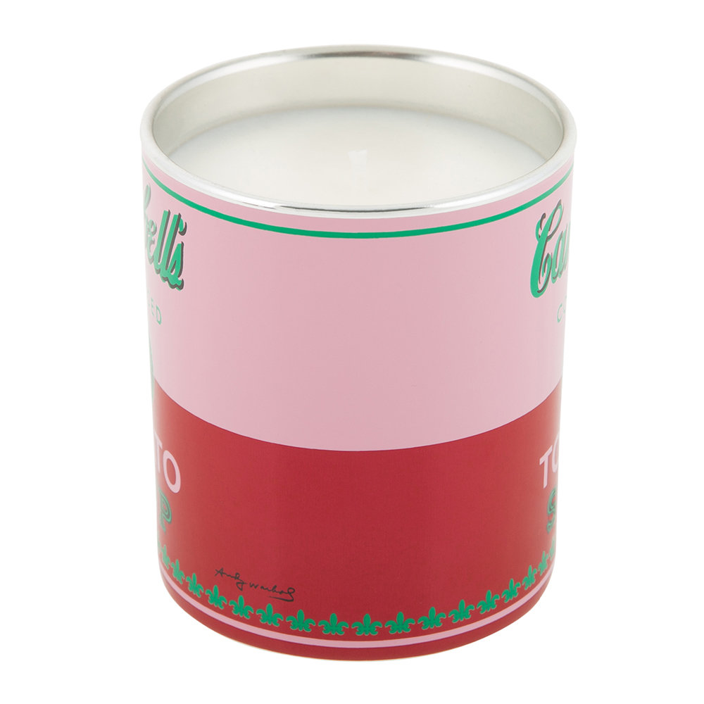 Ligne Blanche - Andy Warhol Scented Candle - Campbell's Soup - Tomato Leaf