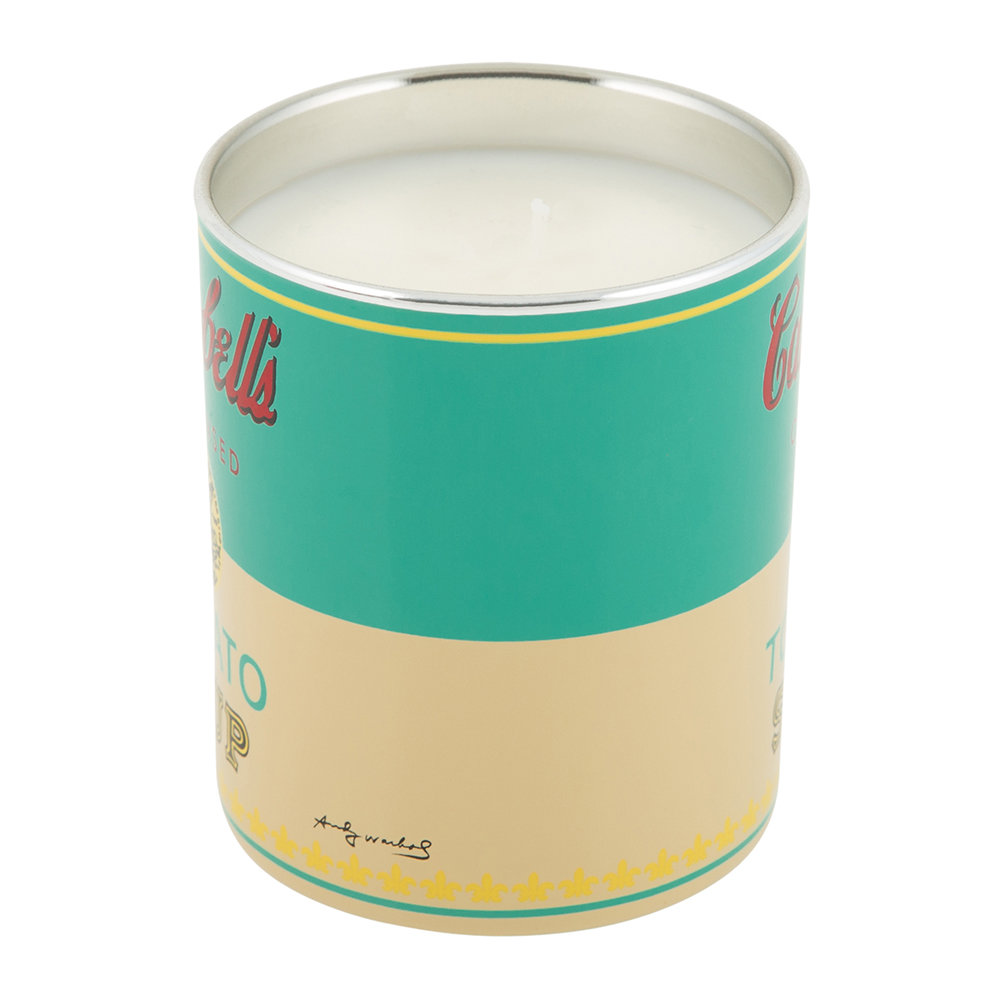 Ligne Blanche - Andy Warhol Scented Candle - Campbell's Soup - Pop Wood