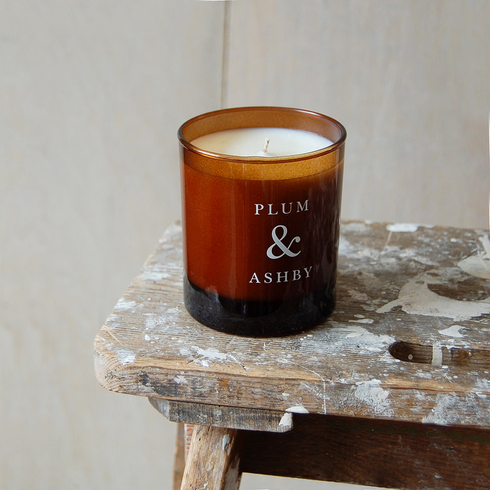 Plum & Ashby - Scented Candle - Vetiver & Lavender