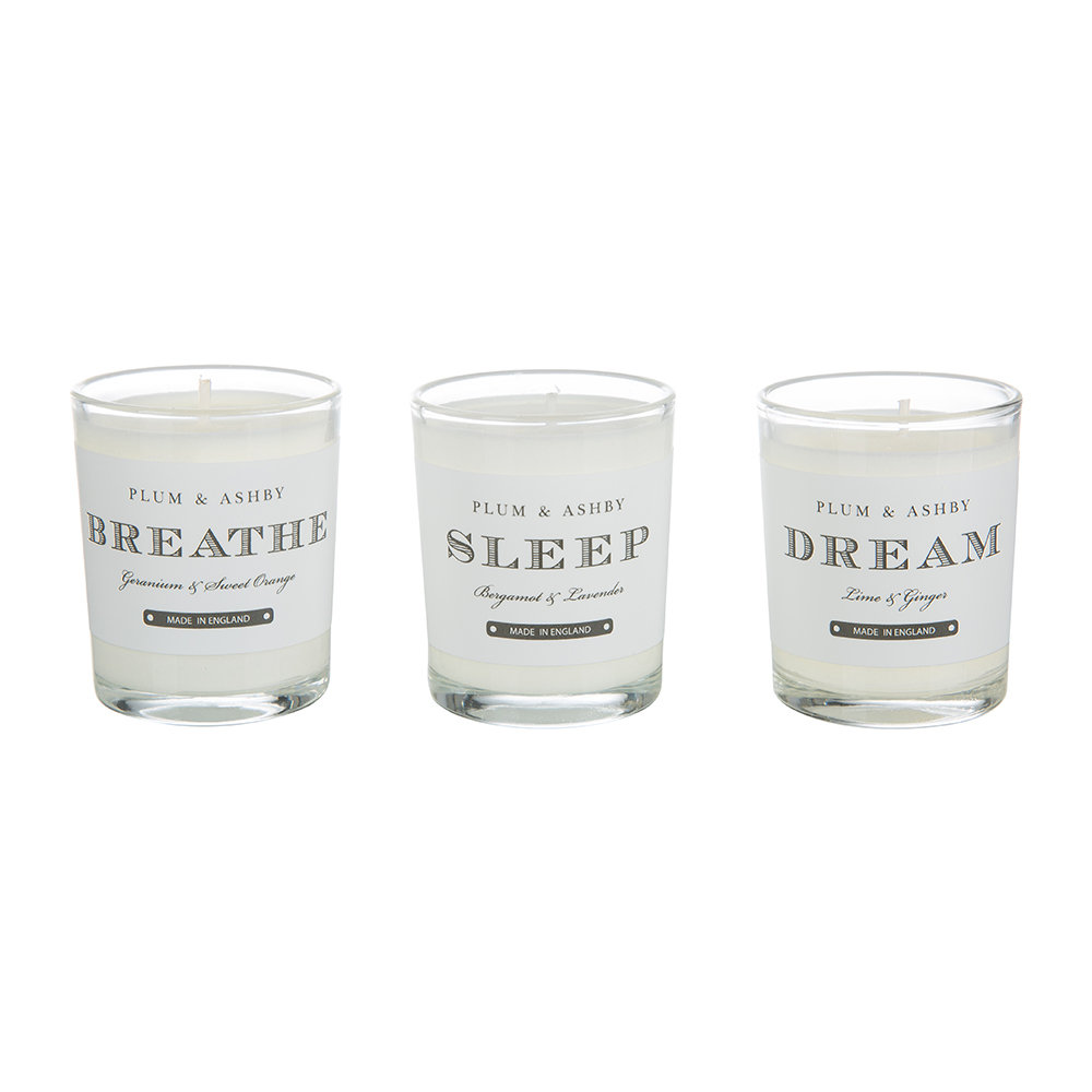 Plum  Ashby - Relax Votive Candle Gift Set