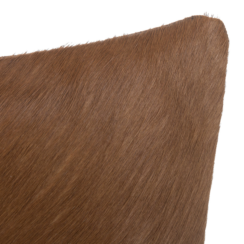 A by AMARA - Cowhide Pillow - 45x45cm - Natural