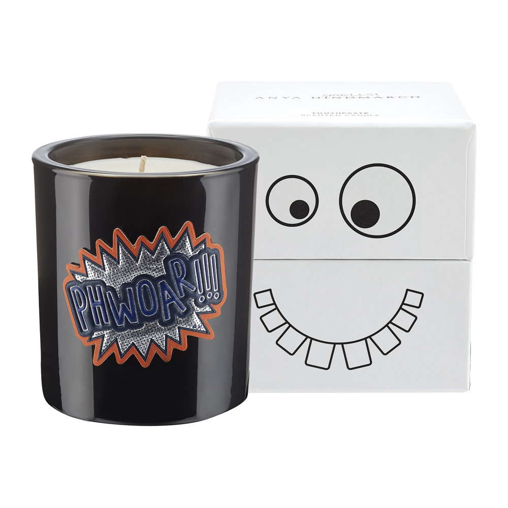 Anya Hindmarch - Anya Smells Toothpaste Candle - Fresh Peppermint and Rhubarb - 175g