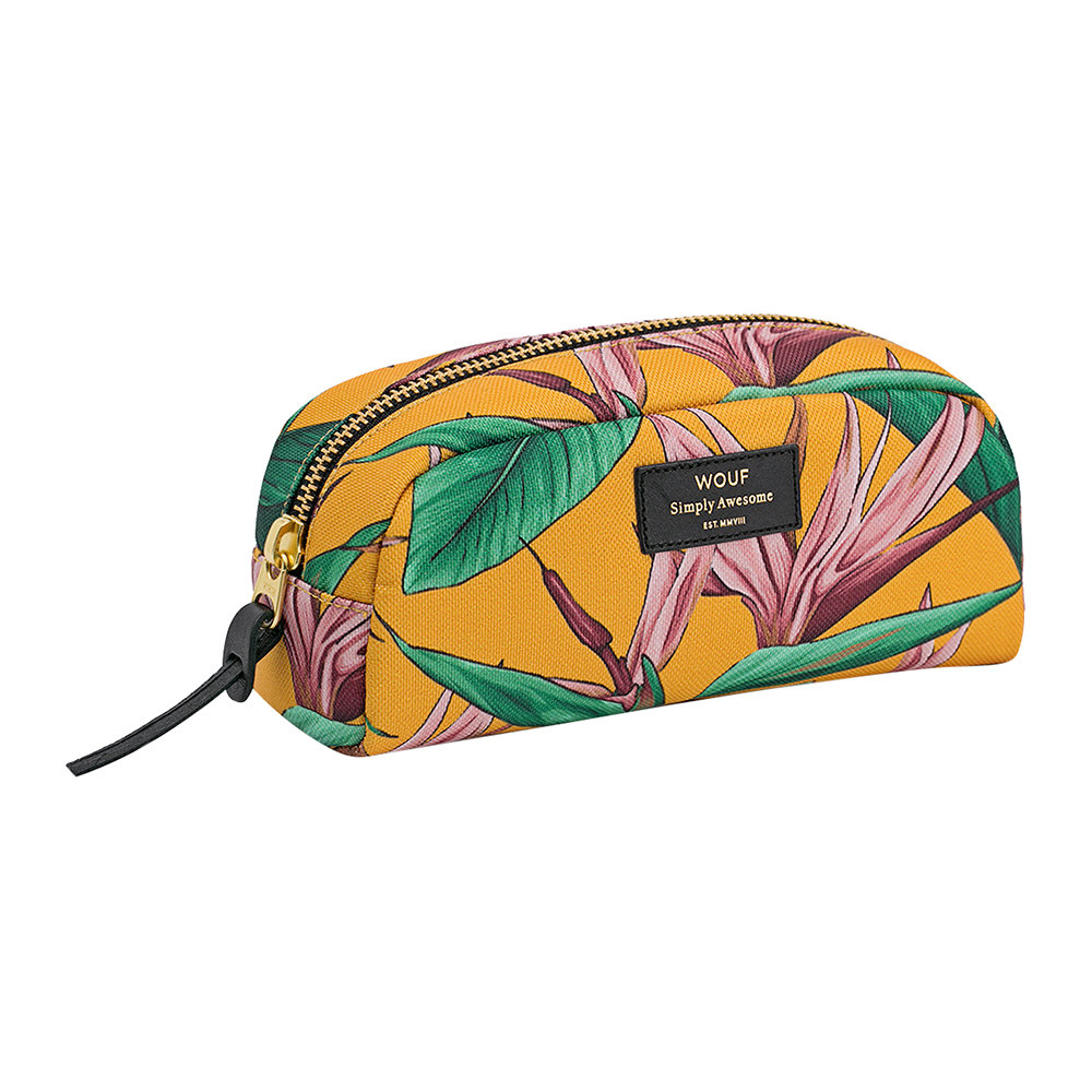 Wouf - Bird of Paradise Cosmetic Bag - Small