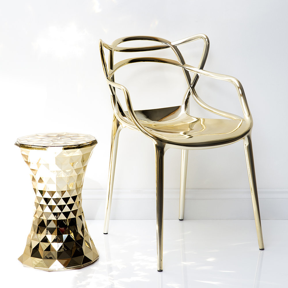 Kartell - Masters Chair - Gold