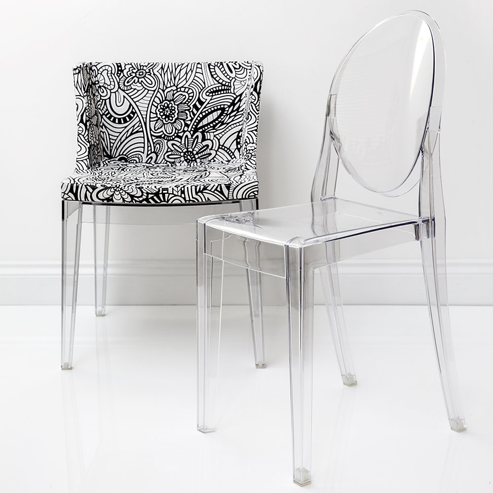Buy Kartell Mademoiselle 'a La Mode' Transparent Chair
