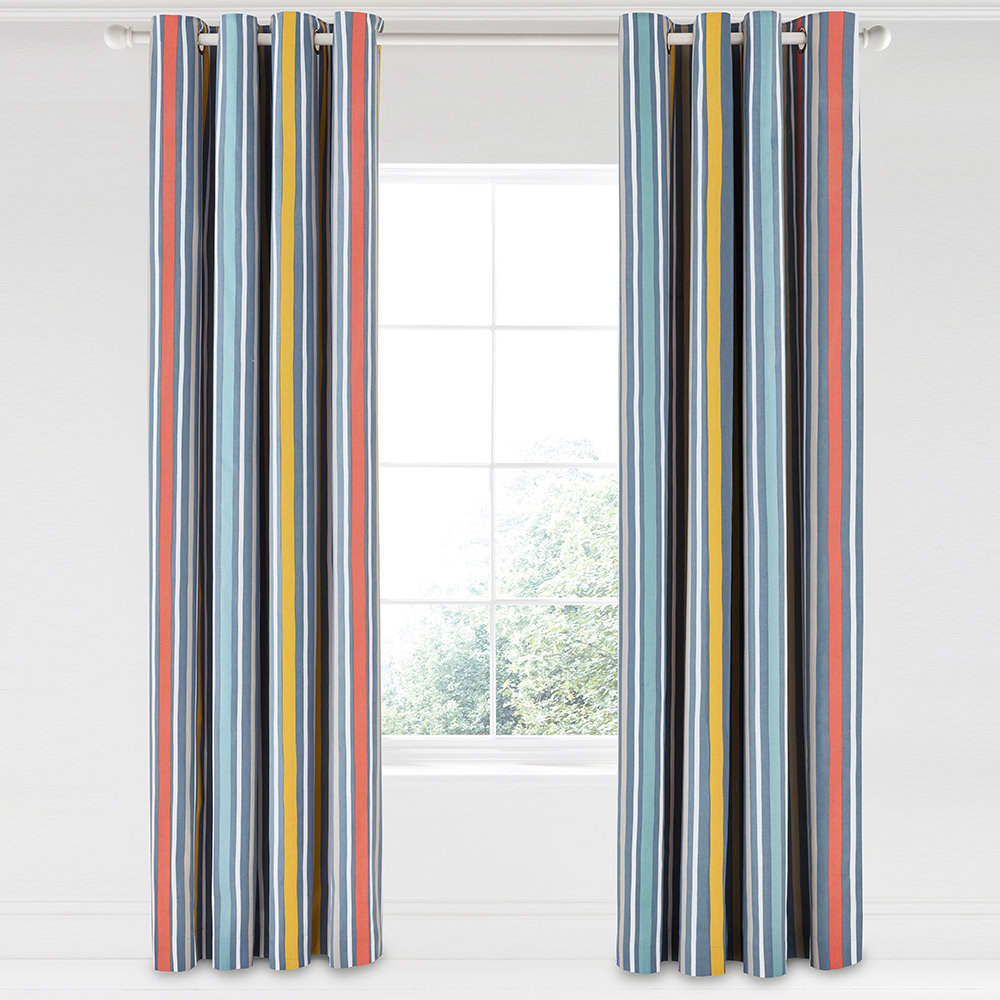 Scion  Pepino Lined Curtains  Ink  168x229cm