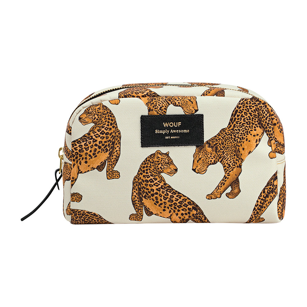 Buy Wouf Leopard Cosmetic Bag   Amara 949c0a5055