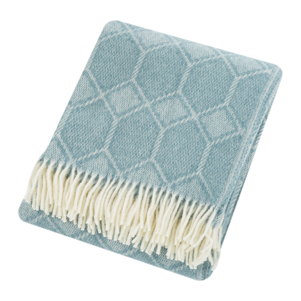 Tweedmill - Churchpane Wool Throw - Petrol