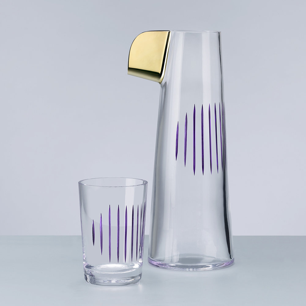 Nude - Parrot Water Carafe - Clear