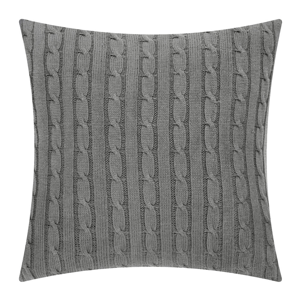 buy ralph lauren home cable cushion cover 45x45cm. Black Bedroom Furniture Sets. Home Design Ideas