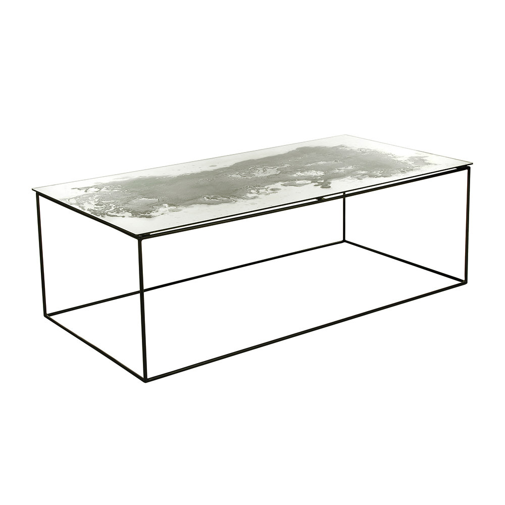 Buy A By Amara Iridescent Glass Coffee Table