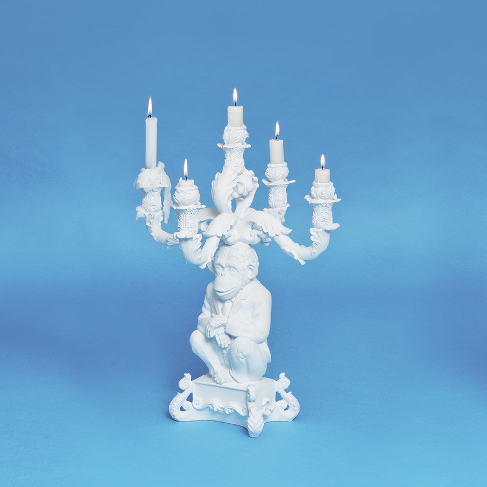 Seletti - 'Burlesque - The Wise Chimpanzee' Candelabra