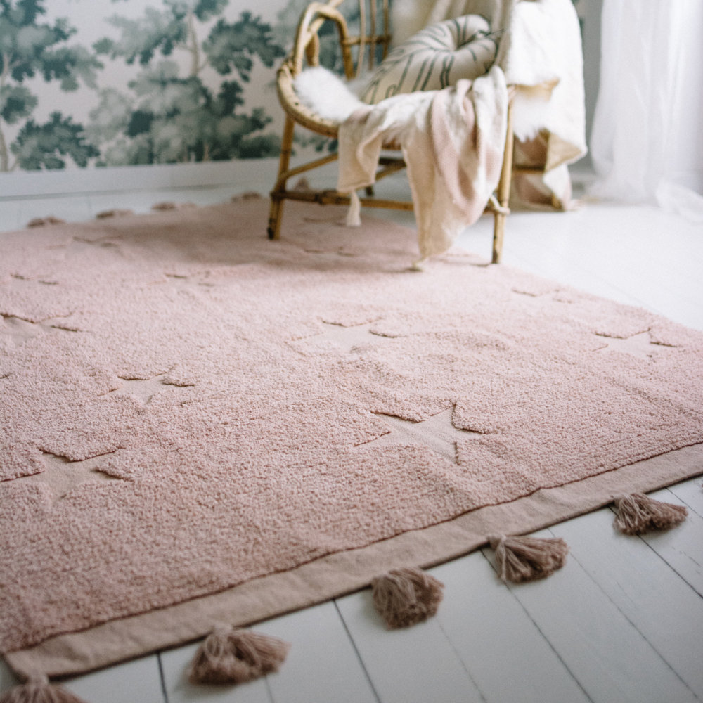 Lorena Canals Kids Washable Hippy Stars Rug in 2020