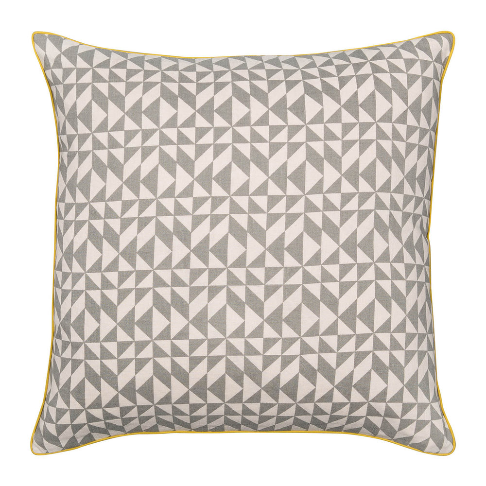 Niki Jones  Terrazzo Pillow  50x50cm  Grey