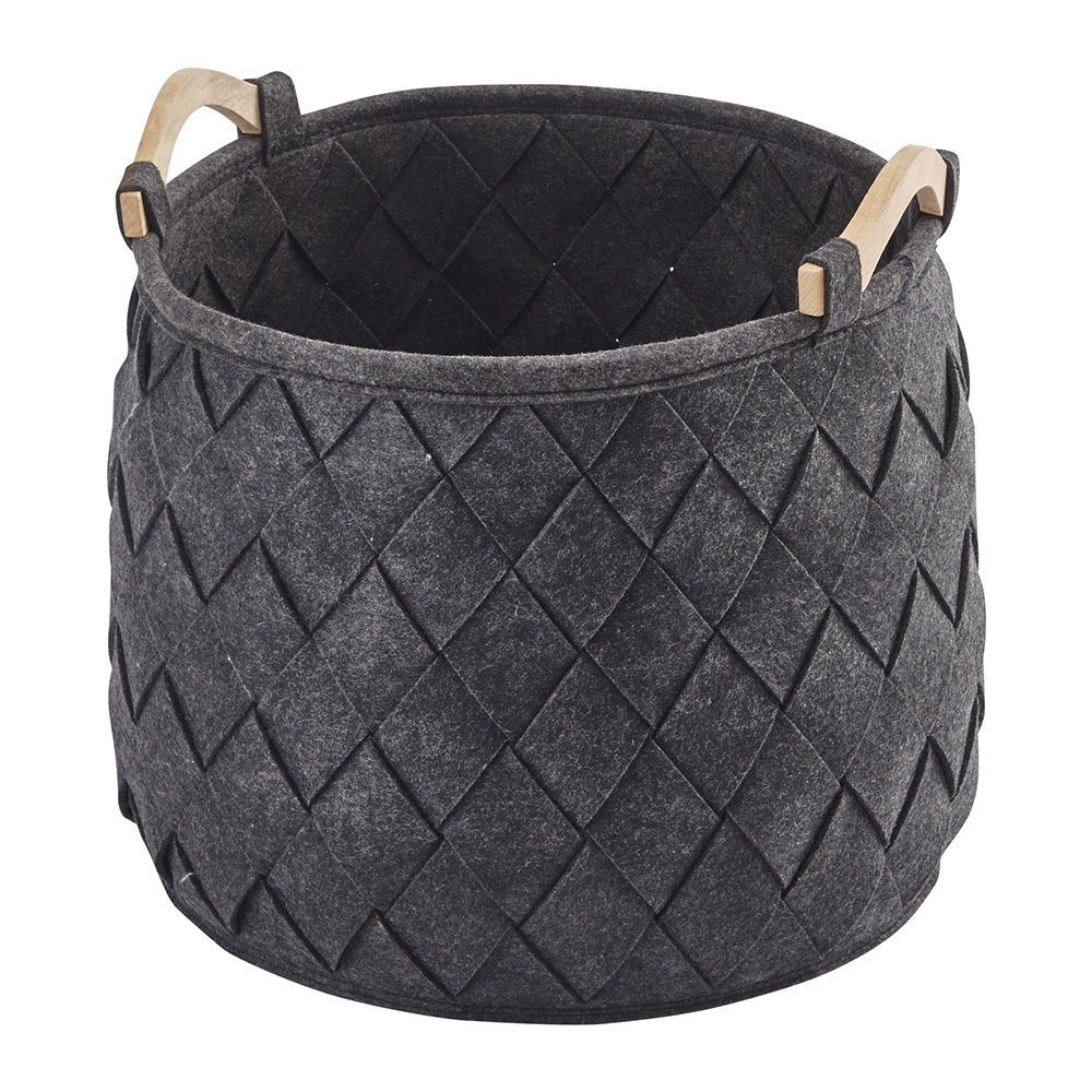 Aquanova - Amy Storage Basket - Dark Grey